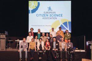 The ECSA Board of Directors, with Luigi Ceccaroni in the bottom right corner.